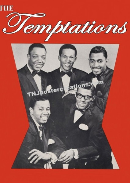 The Temptations Biopic Fan Casting Poster