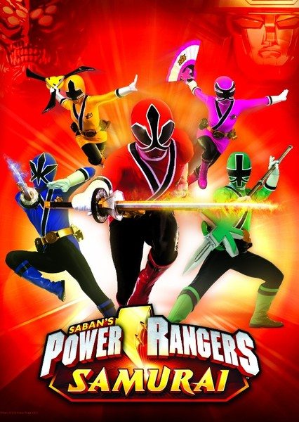 Power Rangers Samurai: Shattered Grid Fan Casting Poster