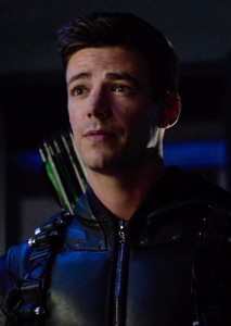 Grant Gustin Green Arrow