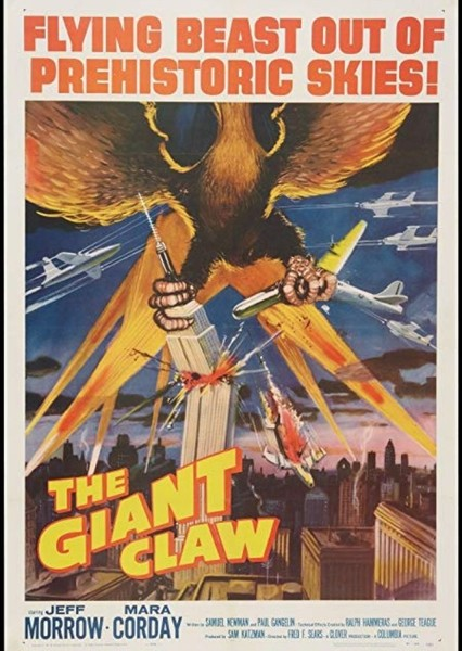 The Giant Claw Fan Casting Poster