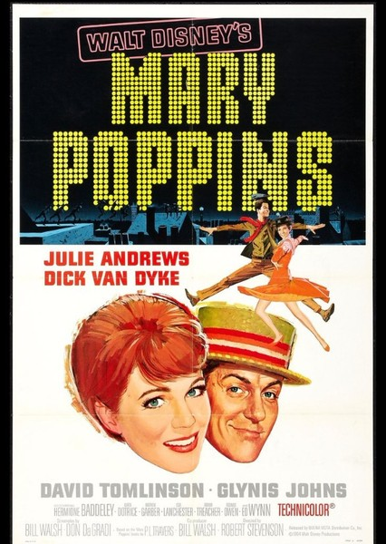 Mary Poppins Fan Casting Poster