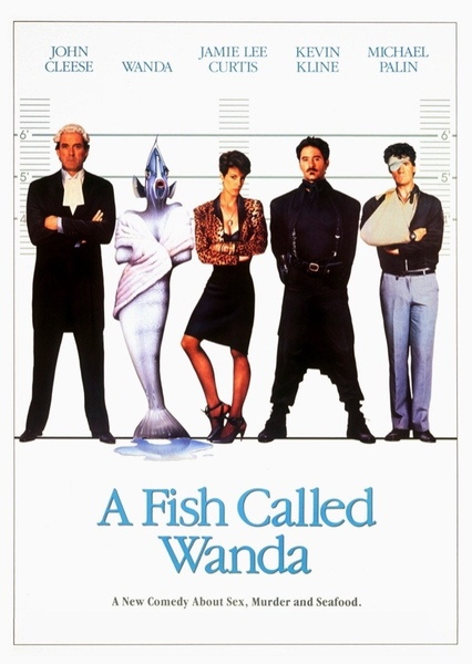 A Fish Called Wanda Fan Casting Poster