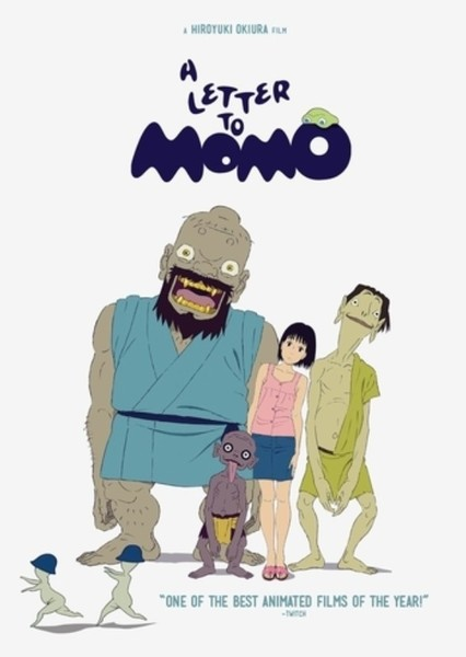 A Letter to Momo (Re-Dub) Fan Casting Poster