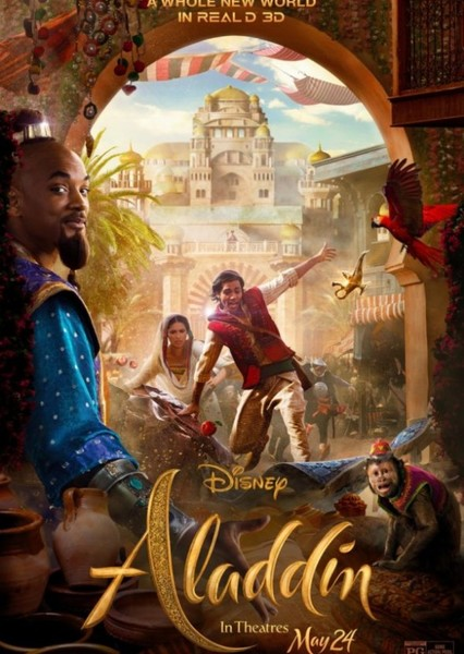 Aladdin 2019 (Alternative Cast) Fan Casting Poster