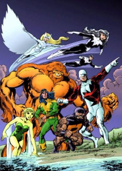 Alpha Flight (MCU) Fan Casting Poster