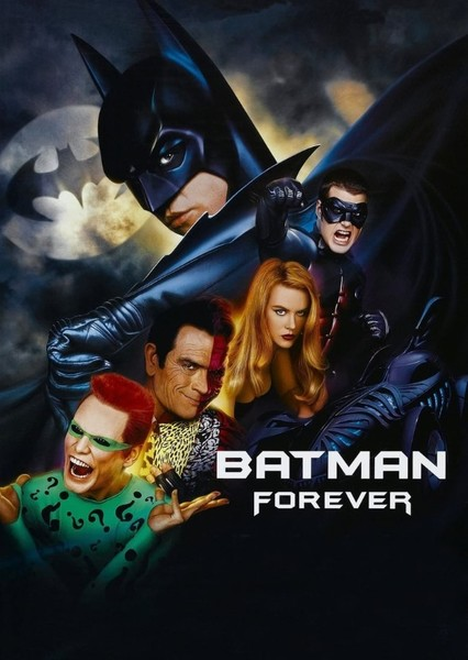 Alternate Casting: Batman Forever Fan Casting Poster