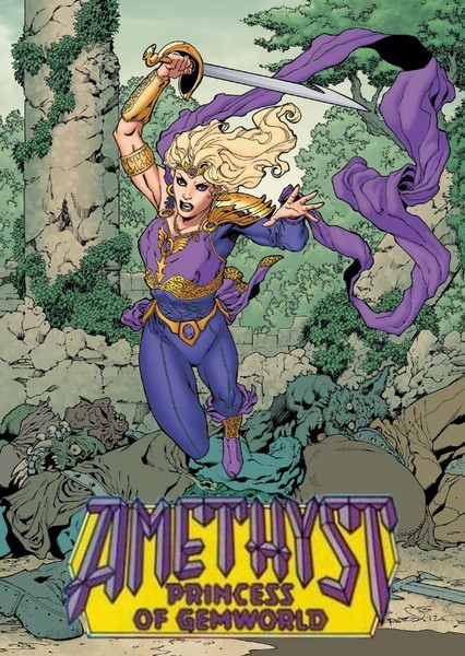 Amethyst, Princess of Gemworld Fan Casting Poster