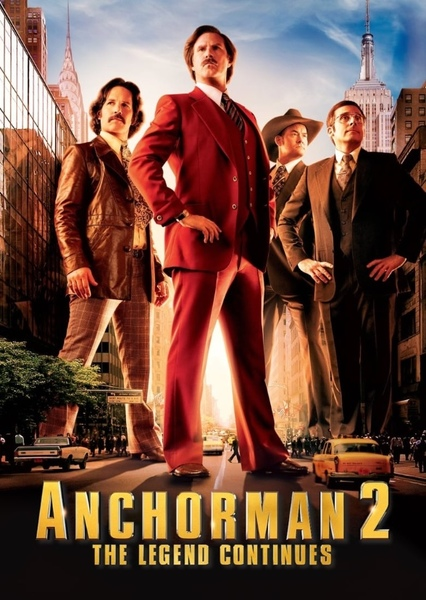 Anchorman 2: The Legend Continues (1998) Fan Casting Poster