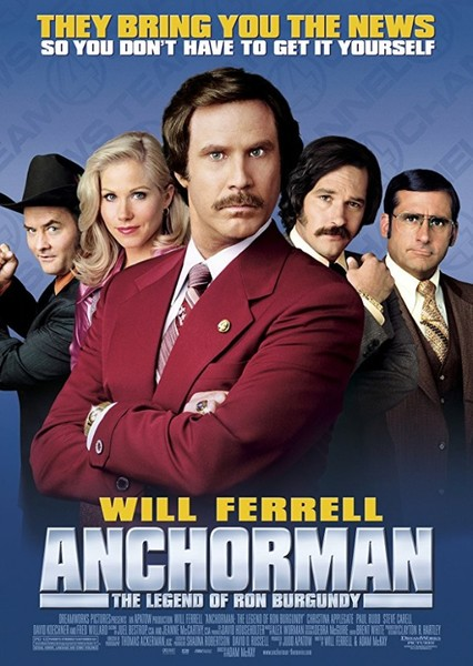 Anchorman: The Legend of Ron Burgundy (1994) Fan Casting Poster