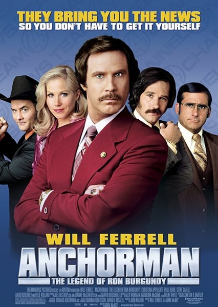 Anchorman: The Legend of Ron Burgundy (2014) Fan Casting Poster