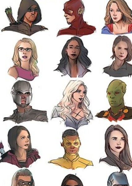 Arrowverse Cinematic Universe Fan Casting Poster
