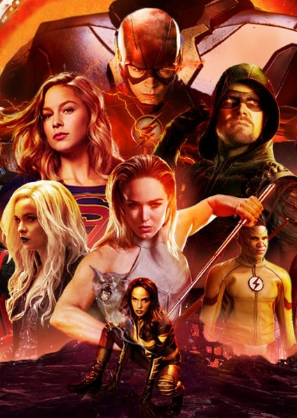 Arrowverse: Justice League Fan Casting Poster