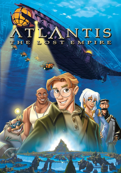 Atlantis: The Lost Empire Fan Casting Poster