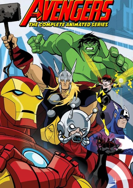 AVENGERS ANIMATED MOVIE  Fan Casting Poster