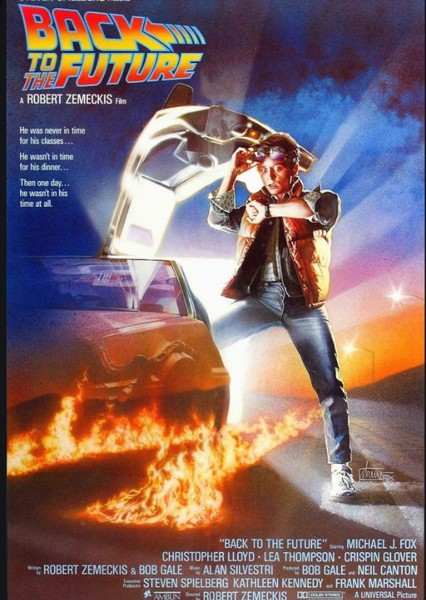 Back To The Future (1995) Fan Casting Poster