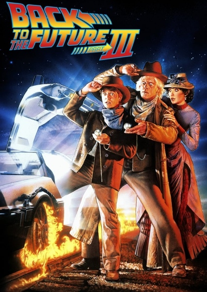 Back To The Future Fan Casting Poster