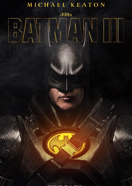 Batman III (2022) Fan Casting Poster