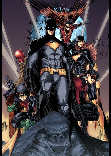 Batman and his Supporting Characters Fan Casting Poster