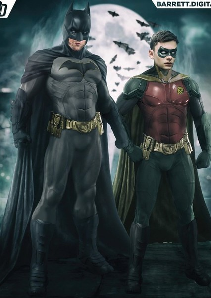 Batman and robin Fan Casting Poster
