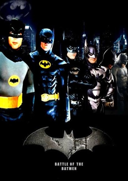 Battle Of The Batmen (Video Fan Cast Idea For MightyRaccoon) Fan Casting Poster