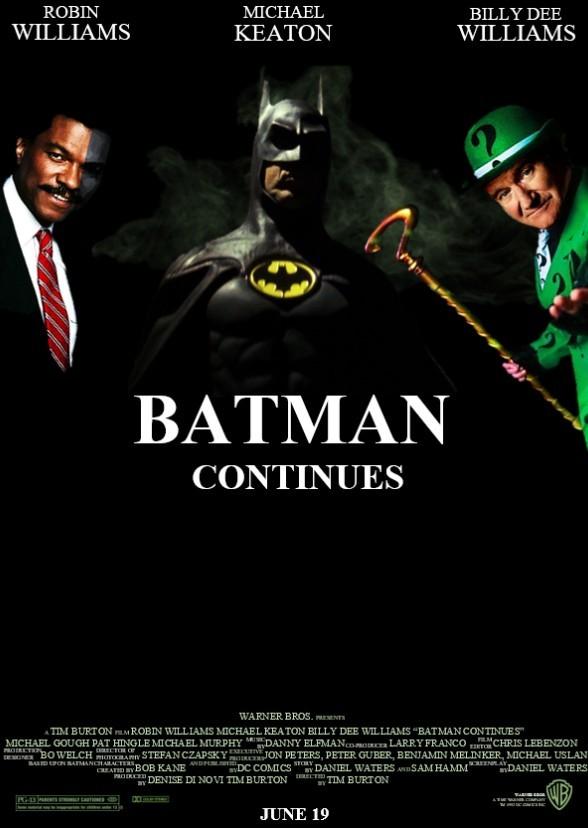 Batman Continues Fan Casting on myCast