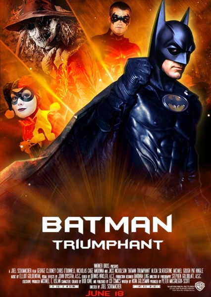 Batman Triumphant (1999) Fan Casting Poster