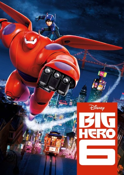 Big Hero 6 (Live Action) Fan Casting Poster