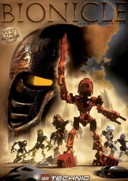 Bionicle: The Series of a Legend Fan Casting Poster