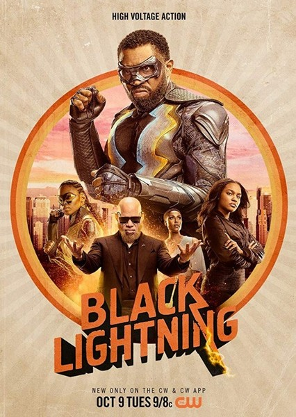 Black Lightning (Arrowverse) Fan Casting Poster