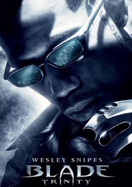 Blade: Trinity (2004) done correctly  Fan Casting Poster