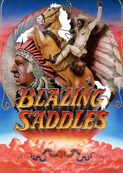 Blazing Saddles (1994) Fan Casting Poster