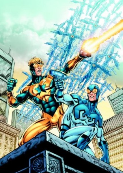 Booster Gold Fan Casting Poster