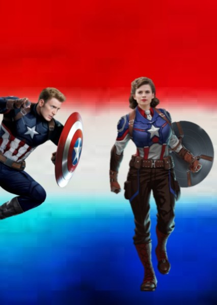Captain  America & Peggy Fan Casting Poster