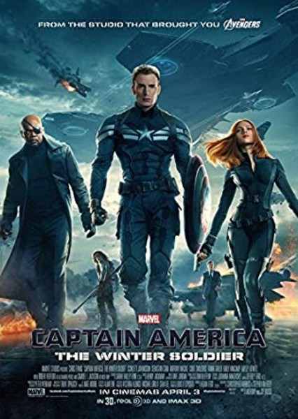Captain America: The Winter Soldier (2004) Fan Casting Poster