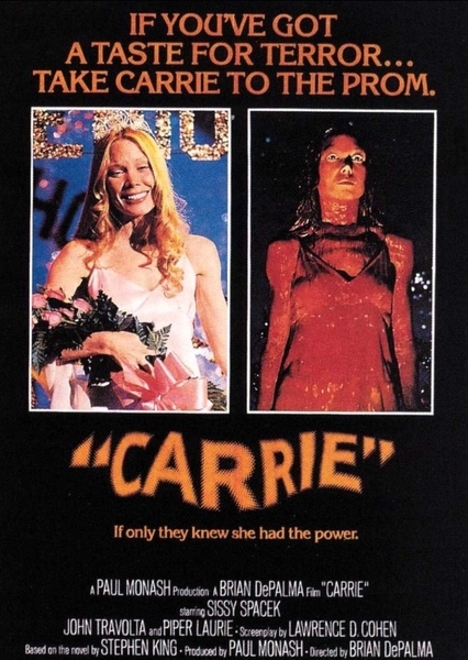 Carrie Fan Casting Poster