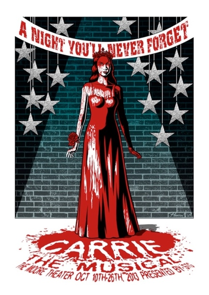 Carrie: The Musical Fan Casting Poster