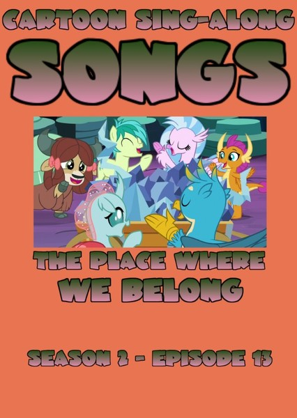 Cartoon Sing-Along Songs: The Place Where We Belong Fan Casting Poster