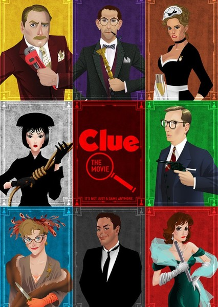 Clue (Reboot) Fan Casting Poster