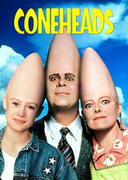 Coneheads  Fan Casting Poster