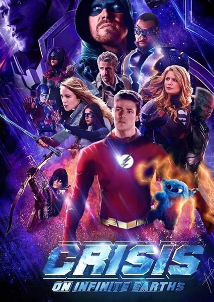 Crisis On Infinite Earths (Endgame Style) Fan Casting Poster