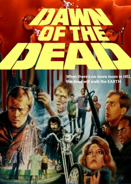 Dawn of The Dead Fan Casting Poster