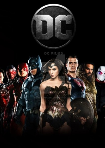 DC Cinematic Universe Reboot Fan Casting Poster