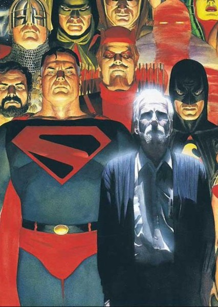 DC Kingdom Come TV Series Fan Casting Poster