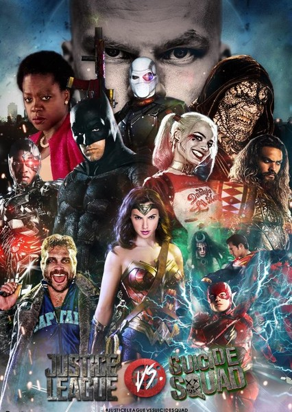 DCEU Characters (but with MCU cast) Fan Casting Poster