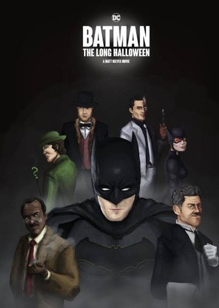 DCEU The Long Halloween (2012) Fan Casting Poster