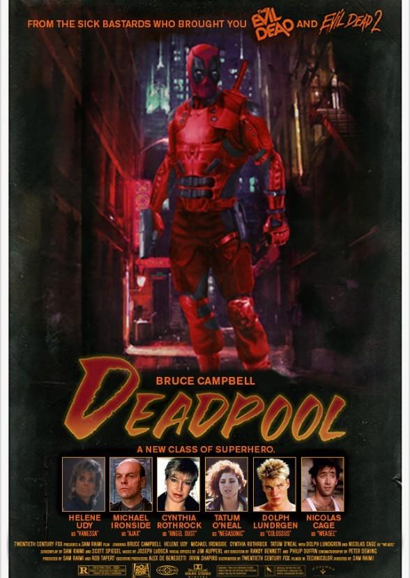 Deadpool 1988 Fan Casting On Mycast
