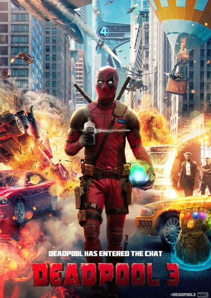 Deadpool 3 Fan Casting Poster