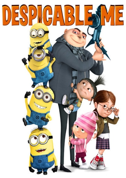 Despicable Me (Live Action) Fan Casting Poster