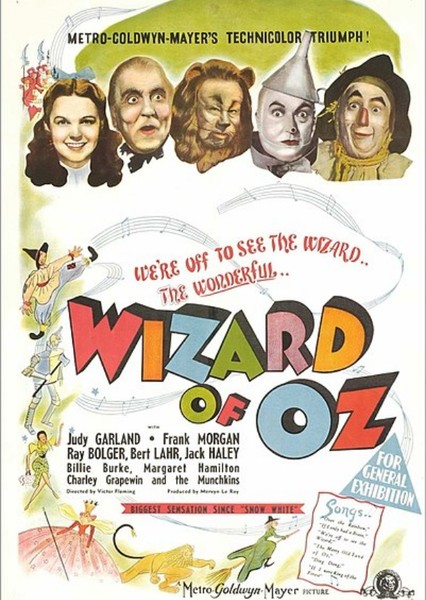 Disney's The Wizard Of Oz Fan Casting Poster