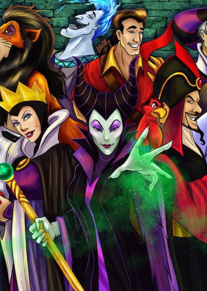 Disney Villains Fan Casting Poster